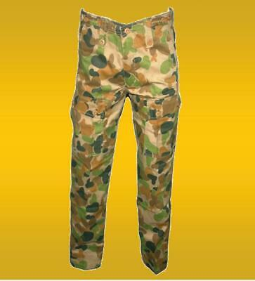 AUSCAM PATTERN MILITARY STYLE TROUSERS  -   Size 28 to 44