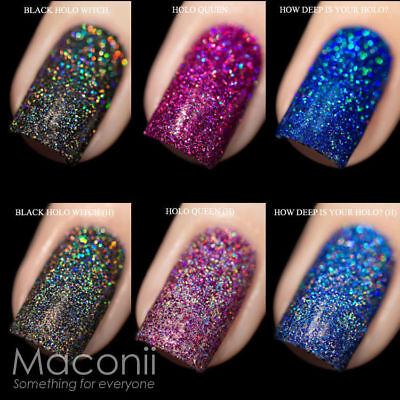 F.U.N Lacquer x Simplynailogical - Holographic Glitter Nail Polish 12ml