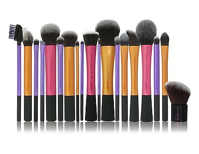 Pro Techniques Makeup Brushes Bold Design Metal Handle Real Bargain Prices