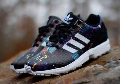 reputable site de176 30840 `Adidas ZX FLUX W Women s Running Shoes Multi-Color Style  B25834 `