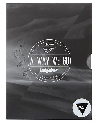 New Garage Entertainment A Way We Go Dvd Lace Snowboarding Movie Film Multi N/A