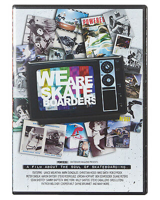 New Garage Entertainment We Are Skateboarders Dvd Multi N/A