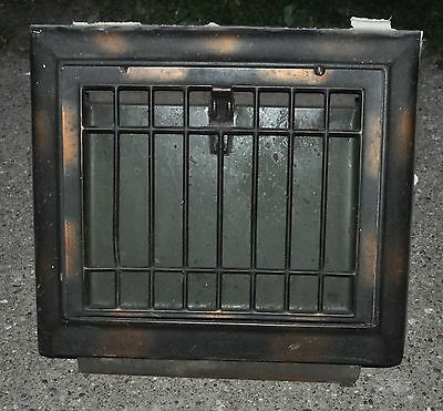 Antique Metal Wall Cold Air Return Heat Vent Grate Register NOSTREAK