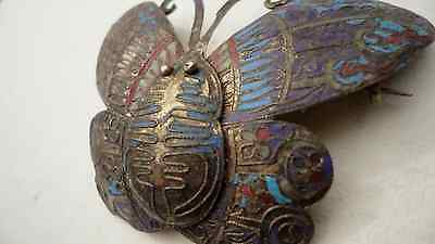 Rare Egyptian Broach Moth Design Very Old