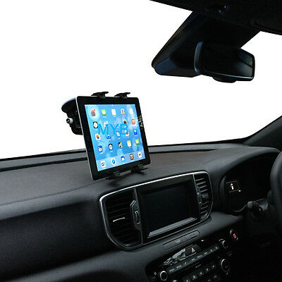 """Universal Car Windscreen Suction Mount Holder For IPad 1 2 3 4 Air 6 -10"""" Tablet"""