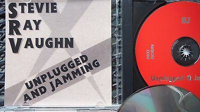Stevie Ray Vaughn-Unplugged And Jamming-Pro Sourced Silver Disc Cd-Red Robin !!!