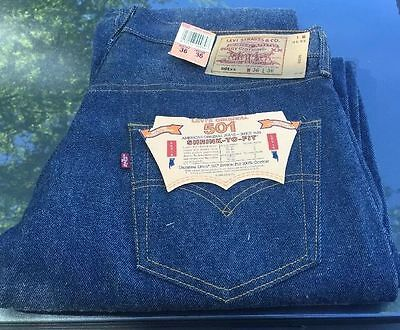 Vintage Levis 501 xx W36L36 NWT San Fran.  Shrink to fit. made in USA