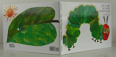 ERIC CARLE The Very Hungry Caterpillar SIGNED