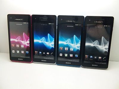NTT docomo SO-01E Sony Xperia AX Non-working Display Phone 4 color set
