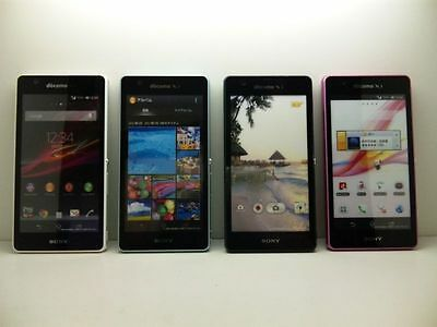 NTT docomo SO-04E Sony Xperia A Non-working Display Phone 4 color set