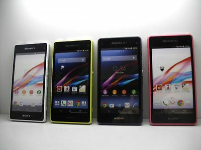 NTT docomo SO-02F Sony Xperia Z1 F Non-working Display Phone 4 color set