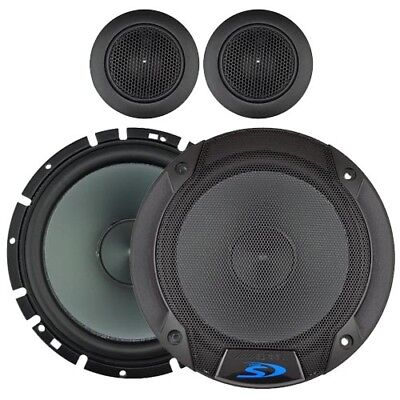 "Alpine SPS-610C 6.5"" 80W Component Speakers - AUST RETAILER & WARRANTY"
