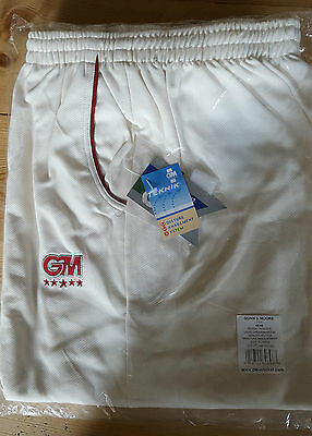 Gunn and Moore Teknik Cricket Trouser Light cream/maroon