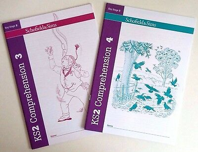Schofield & Sims Comprehension 3 & 4 (pack of 2 books)