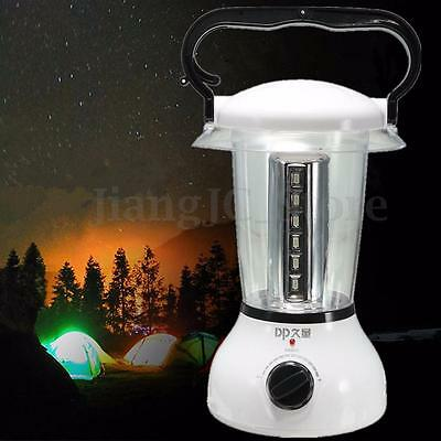 Rechargeable 24 LED Camping Tent Lantern Light Dimmable Hiking Fishing Lamp AU
