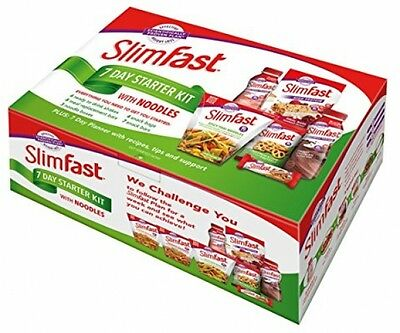 SlimFast 7 Day Starter Kit With Noodles