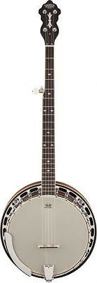 "Gretsch G9410 Broadkaster ""Special"" 5-String Resonator Banjo Rolled Tone-Ring"