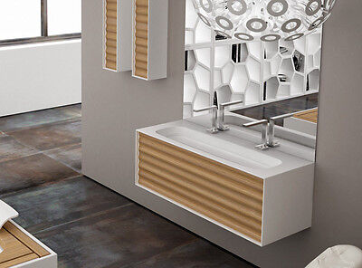 Planit sinks Impro sink with unit in Corian IMPRO2