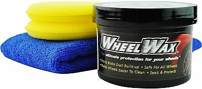 Wheel Wax Ultimate Protection with Microfiber and 2 Applicator Pads