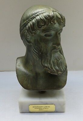 Reproduction d'un personnage antique Poseidon ou Zeus