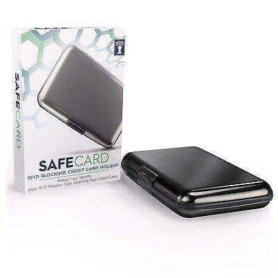 SafeCard RFID Blocking Card Holder Case - Best Identity Theft Protection and ...