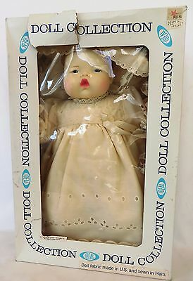 "1983 IDEAL 17"" Vinyl Cloth THUMBELINA Collector Doll:Wrist Tag 4L-2551-0000 NRFB"