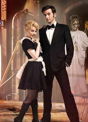 Kylie Minogue & David Tennant Unsigned Photo - 8150 - Doctor Who