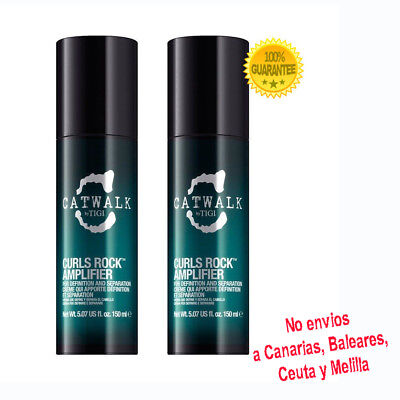 Tigi Catwalk Curls Rock Amplifier 150ml (2 unidades)