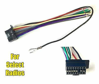 car stereo radio replacement wire harness plug for select jvc 16 car stereo radio replacement wire harness connector for some sony 16 pin radios