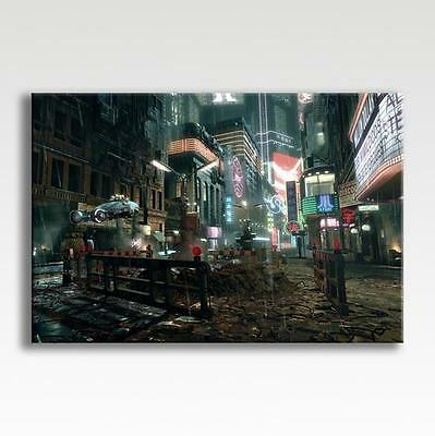 """Blade Runner City Canvas Poster Photo Picture Print Wall Art 30"""" x 20"""""""