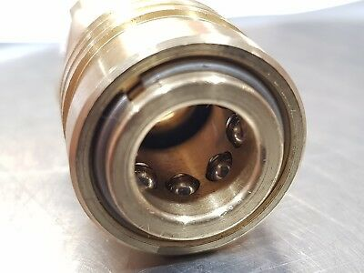 Coupling Quick Release Brass