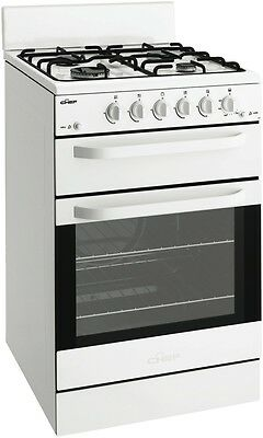 NEW Chef 54cm Natural Gas Upright Cooker Stove 80 Litres CFG503WANG