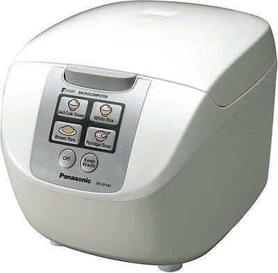 NEW Panasonic SR-DF181WST 10 Cup Rice Cooker
