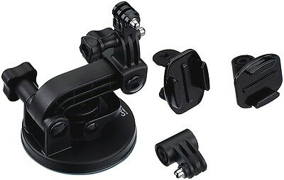 NEW GoPro GPAUCMT-302 Suction Cup Mount