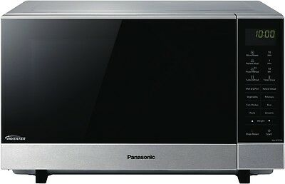 NEW Panasonic NN-SF574SQPQ 27L 1000W Stainless Steel Microwave