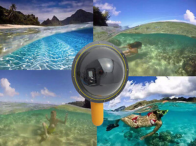 6 Inch Dome Port for Gopro Hero 3/3+/4 Underwater Photography Floaty Handheld