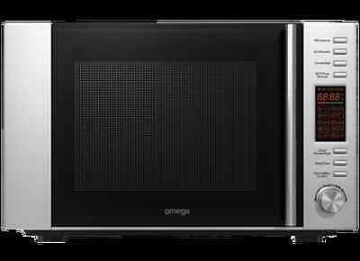 BRAND NEW Omega Stainless Microwave w/ Grill & Convection Oven 30L
