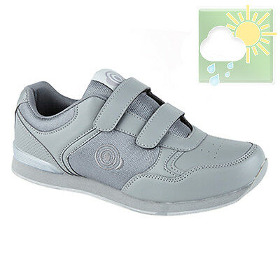 Bowls Shoes Grey - DEK 'DRIVE' Bowls Sport Shoes