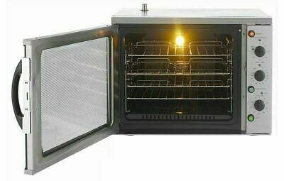 New Infernus Commercial Electric Convection Oven 108 ltr 4x 1/1 GN Bake Off