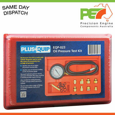 Oil Pressure Test Kit  - A MUST for any DIY or Mechanic