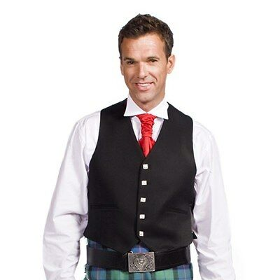 Argyll 5 Button Formal Vest Kilt Mens Size 42 Wool