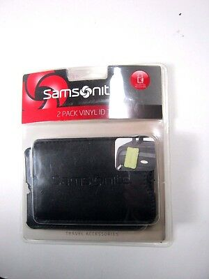 Samsonite Luggage Tag / 2 Piece Set 43672-2012 Selected Color
