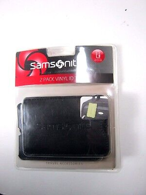 Samsonite Luggage Tag / 2 Piece Set Selected Color