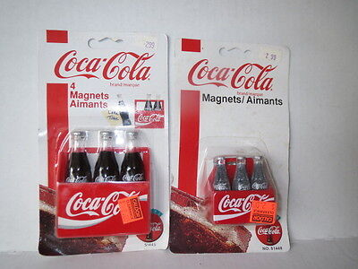 #7 Coca-Cola ALWAYS CAMPAIGN Coke 2 Magnet Pack LOT 5 magnets in all!