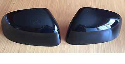 Gloss Black Wing Mirror Covers Set For Bmw X3 F25 X4 F26 X5 F15 X6 F16