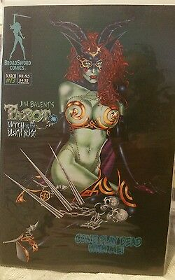 Jim Balent's Tarot: Witch Of The Black Rose, #13 cover B, March 2002 broadsword