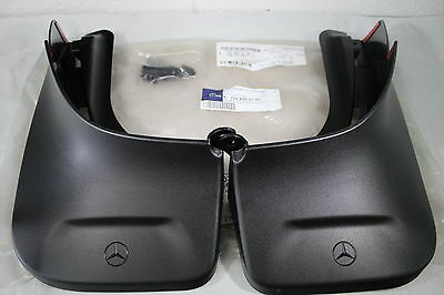 Genuine Mercedes-Benz X156 GLA REAR Black Mud Flaps A1568900100 NEW