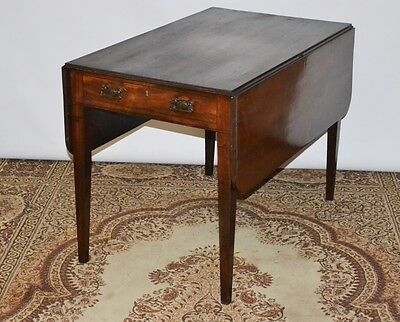 Antique Victorian Mahogany Pembroke Drop Leaf Table - FREE Delivery [PL2183]