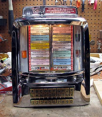 Seeburg Jukebox Wallbox 3Wa-200-Hd Restored – Stock #5318