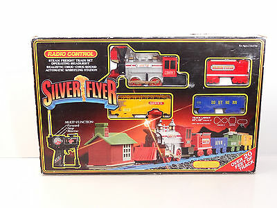 Scientific Toys G Scale Silver Flyer Radio Controlled Steam Engine Set Item 3079